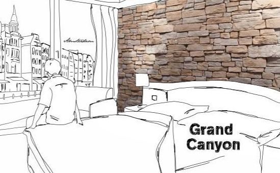 Beton Wandverkleider Grand Canyon