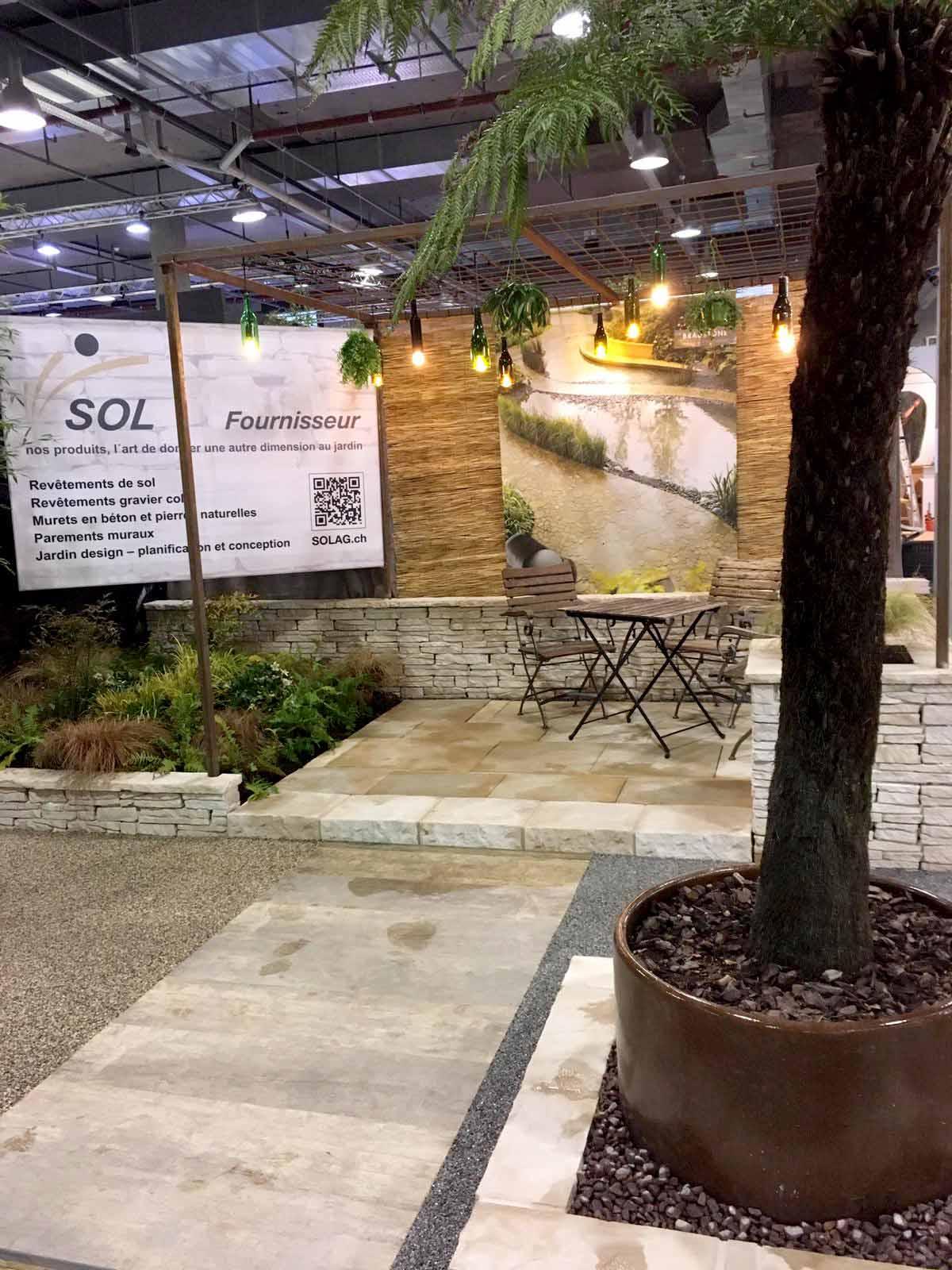 Habitat et Jardin 2019 in Lausanne - SOL AG